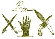 Emblema de La Mano Negra