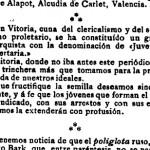 Recorte Tierra y Libertad 26-9-1907