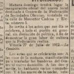 Recorte La Libertad 27-7-1912