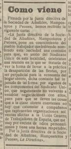 Recorte La Libertad 18-7-1930