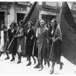 Primer aniversario de la República en Vitoria 1932