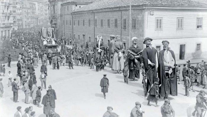 14 de abril de 1932, primer aniversario de la República en Vitoria