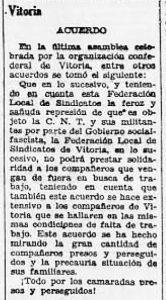 Recorte Solidaridad Obrera 7-9-1932