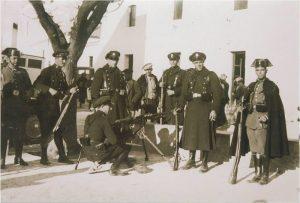 Guardias de Asalto y Guardia Civil en Casas Viejas en 1933