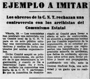 Recorte Solidaridad Obrera 20-12-1932