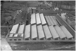 Fábrica Ajuria de Vitoria hacia 1930