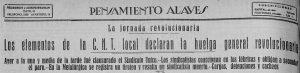 Titular contraportada Pensamiento Alavés 11-12-1933
