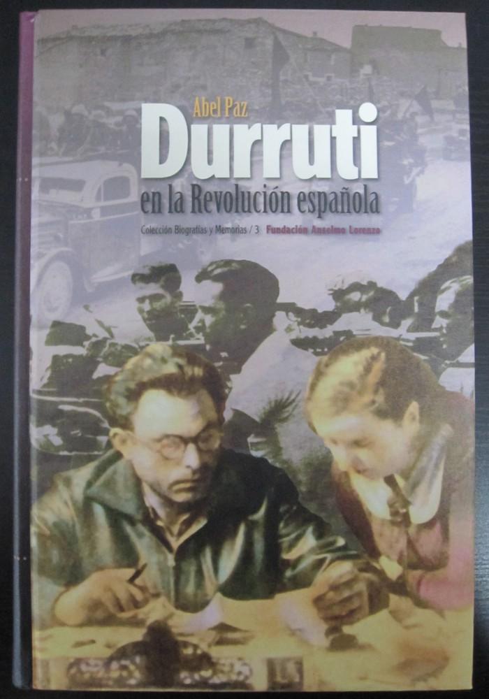 Libro Durruti en la Revolución española