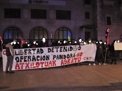 Concentración Operación Pandora